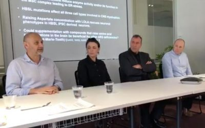 21st September 2019, Q & A with Assoc Prof Rick Leventer, Dr Chloe Stutterd, Assoc Prof, Ernst Wolvetang, Dr Cas Simons.